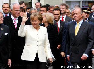 Ангела Меркель 1 мая в Ахене