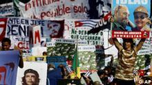Cuba Mai-Demonstrationen in Havanna