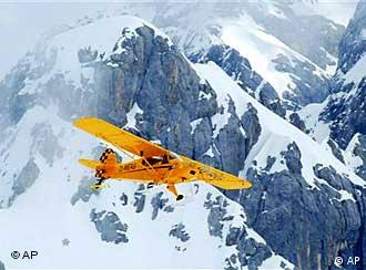 Huber's plane