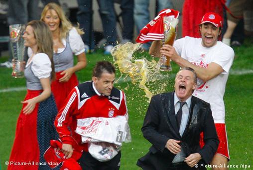 FC Bayern ist deutscher Meister 2008 freies Bildformat