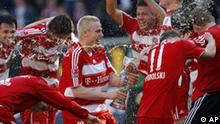 FC Bayern ist deutscher Meister 2008