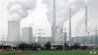 Kohle Kraftwerk in Hessen