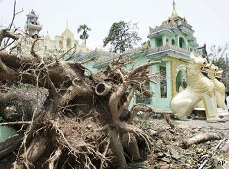 International experts are in Myanmar to assess the damages caused by Cyclone Nargis