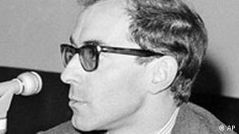 Frankreich Filmreggiseur Jean Luc Godard