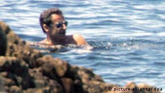 Frankreich Nicolas Sarkozy im Mittelmeer