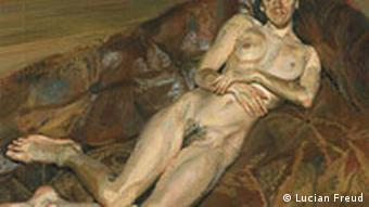 Lucian Freud, Naked Portrait on a Red Sofa, 1989