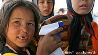 کودکان خیابانی، از مظاهر گستردگی فقر