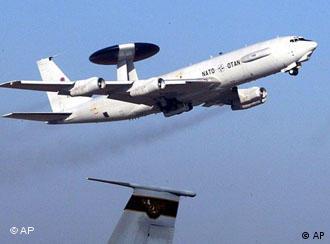 NATO reconnaissance plane