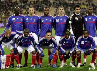 The French national soccer team