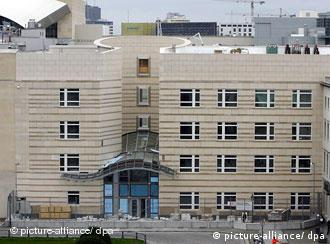 The new embassy, free of scaffolding