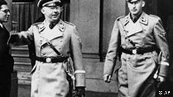 Правоохранительные органы в нацисткие годы находились в подчинении Генриха Гиммлера и Райнхарда Гейдриха