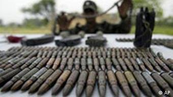 BdT Indien Munition wieder gefunden