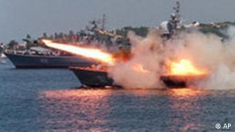 Manöver Russland Ukraine Marine Sewastopol