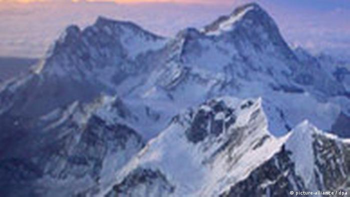 Makalu, der fünfthöchste Berg der Welt