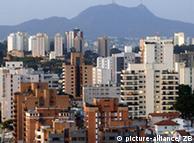 Vista de Sao Paulo, una de las megalópolis de América Latina.