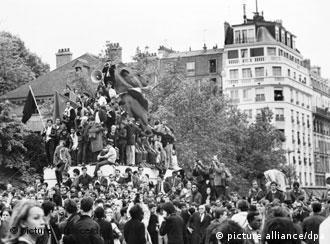 Paris em 1968: de protesto estudantil a greve geral