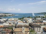 Ciudades como la propia Ginebra, también sienten los efectos del calentamiento global.