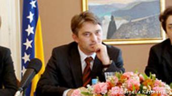 Zeljko Komsic, Mitglied des Staatspräsidiums von Bosnien und Herzegowina (Foto: DW)