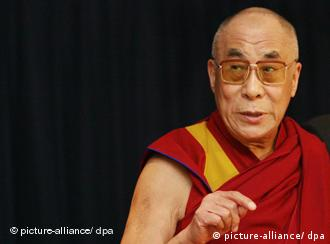 The Dalai Lama, during a visit to Germany in May, 2008