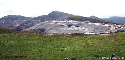 Peru Goldmine Yanacocha in Cajamarca