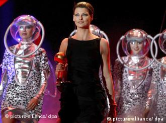 Supermodel Linda Evangelista at the Life Ball in Vienna