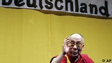 Deutschland China Tibet Dalai Lama in Bamberg