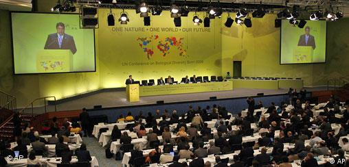 Brojni delegati na konferenciji, za govornicom njemački ministar Gabriel