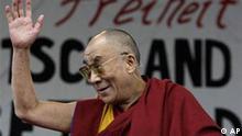 Dalai Lama in Berlin zum Abschluss seines Deutschlandbesuchs auf einer Kundgebung