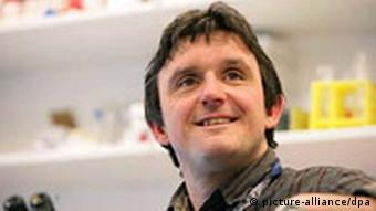A recent undated photo, released 2 April 2008 by England's Newcastle University of Lyle Armstrong who leads the team of researchers at the University's Stem Cell Institute, that has conducted research that could lead to the development of therapies for conditions such as Parkinson's Disease and strokes.