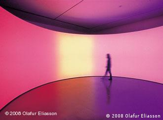 Olafur Eliasson: 360° room for all colours, Quelle: Promo