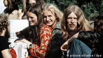 Jugend in den 1970-er Jahren - Hippies