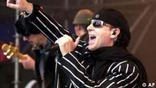 Klaus Meine Sänger der Band Scorpions
