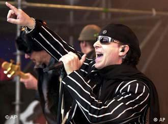 Klaus Meine from the band Scorpions
