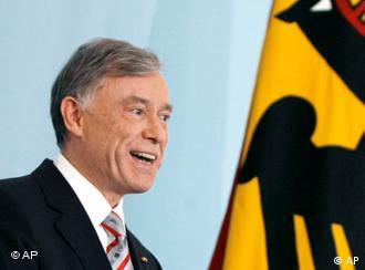 German President Horst Koehler