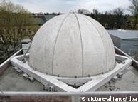 Blick auf die neue Kuppel in Pankow