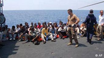 Afričke izbjeglice na Lampedusi