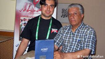 Iran Parwiz Zahedi und Farid Ashrafian