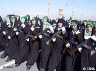 نیروهای بسیجی زن