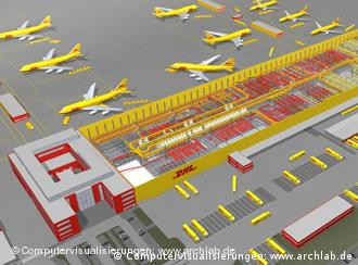 Logistics giant dhl opens new european hub in leipzig for Dhl madrid oficinas