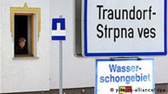 Österreich Zweisprachige Ortsschilder in Kärnten
