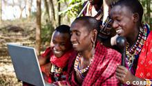 Learning by Ear - Computer and the Internet - Closing the digital divide (CORBIS)