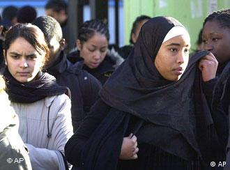French Muslim students