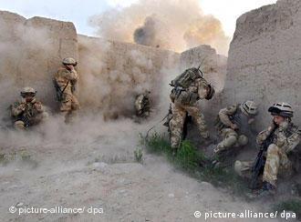 نبرد نیروهای ایساف در جنوب افغانستان در سال ۲۰۰۷