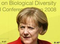 Η Αγκελα Μέρκελ στη διάσκεψη βιοπικοιλότητας