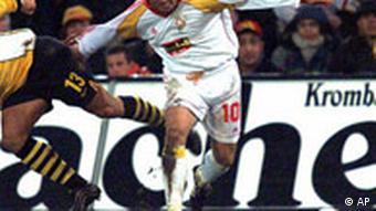 Romanian Gheorghe Hagi from Galatarasay's 2000 squad