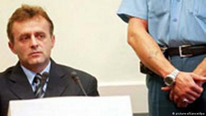 Željko Meakić, bivši zapovjednik logora Omarska za vrijeme suđenja u Haagu