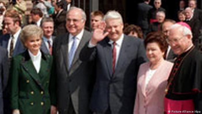 Jelzin in Deutschland 1994