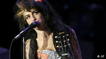 Amy Winehouse beim Festival Rock in Rio Lissabon