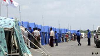 Birma Flüchtlingslager in Irrawaddy