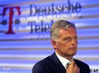 Kai-Uwe Ricke, na época, presidente da Telekom